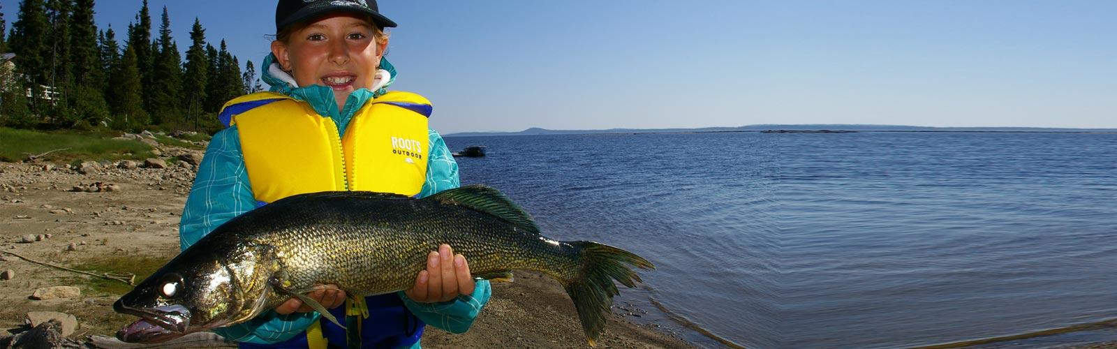 Pourvoirie pêche - Lac du Mâle