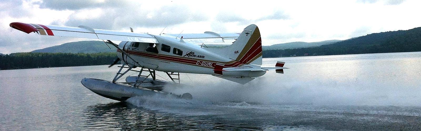 Pourvoirie au Québec, Canada - Avion